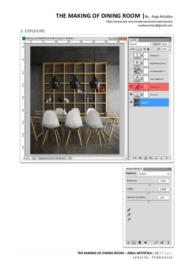 THE MAKING OF DINING ROOM |By : Arga Artistika                                       http://www.wix.com/rendersection/rend...