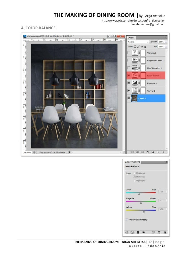 THE MAKING OF DINING ROOM |By : Arga Artistika                                        http://www.wix.com/rendersection/ren...