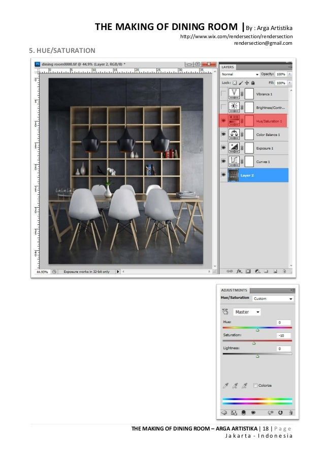 THE MAKING OF DINING ROOM |By : Arga Artistika                                         http://www.wix.com/rendersection/re...