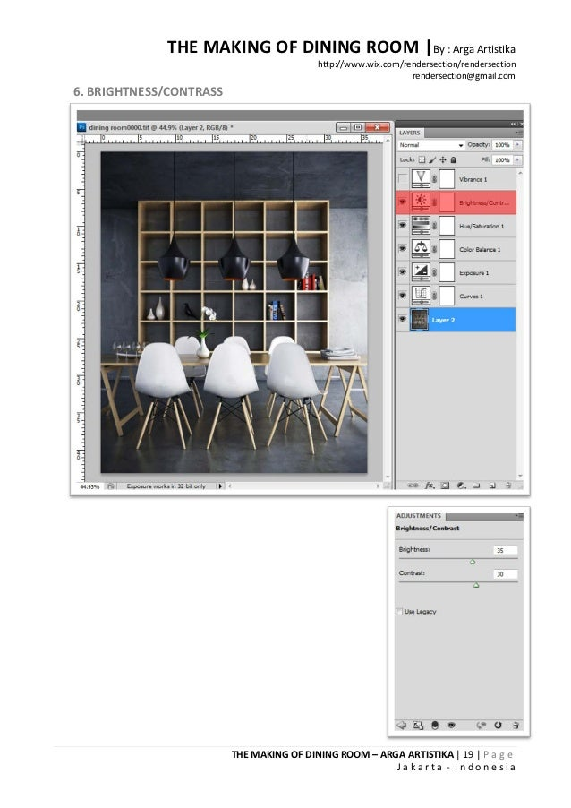 THE MAKING OF DINING ROOM |By : Arga Artistika                                          http://www.wix.com/rendersection/r...