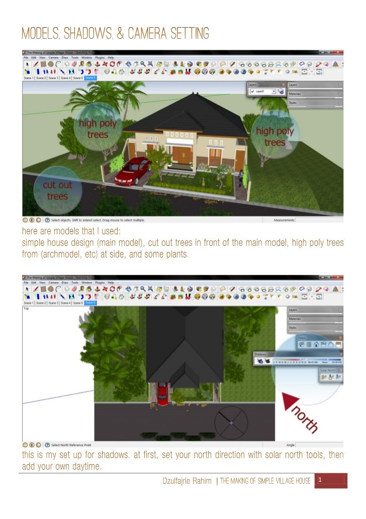 The making of simple village house Slide 2