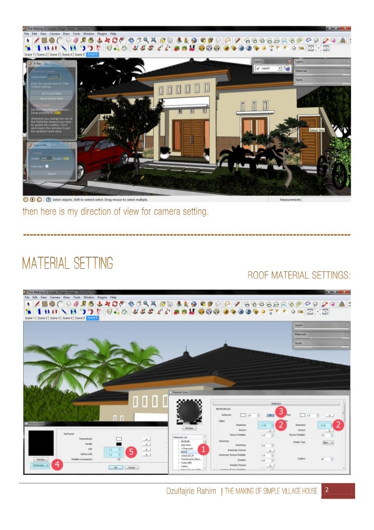 The making of simple village house Slide 3
