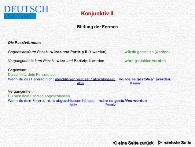 Conjugaison allemand kennenlernen