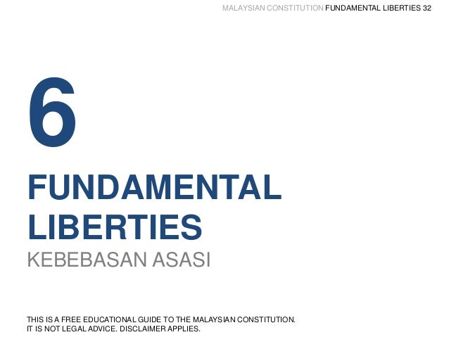 fundamental liberties in federal constitution The modern conception of liberty as implying certain fundamental or basic  the liberties enumerated in the constitution are  by liberty or liberties,.