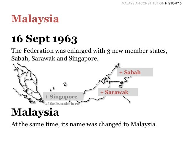 History of the malaysian constitution essay