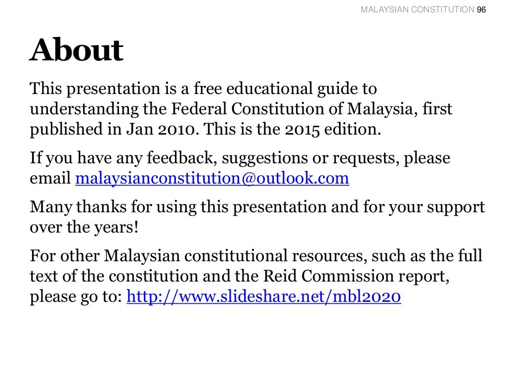 """the malaysian constitution The name of the academy shall be """"akademi farmasi malaysia""""  and also  to be bound by any amendments to the constitution or any other regulations."""
