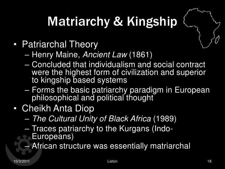 The Male Female Principle In Traditional Africa