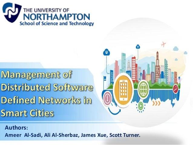 Authors: Ameer Al-Sadi, Ali Al-Sherbaz, James Xue, Scott Turner. School of Science and Technology