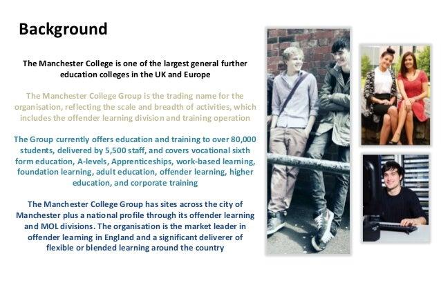 The manchester college presentation