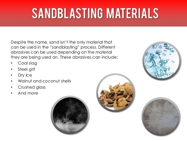 Before we go into the specific uses of sandblasting, a quick note: anyone performing sandblasting should always wear prope...