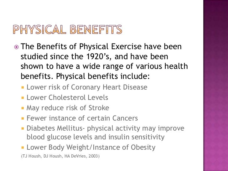 the many benefits of exercising There are many benefits of exercising, including weight control, lowering risk of chronic diseases and more see bupa fact sheet on benefits of exercise.