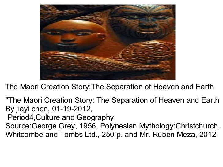 "The Maori Creation Story:The Separation of Heaven and Earth ""The Maori Creation Story: The Separation of Heaven and E..."