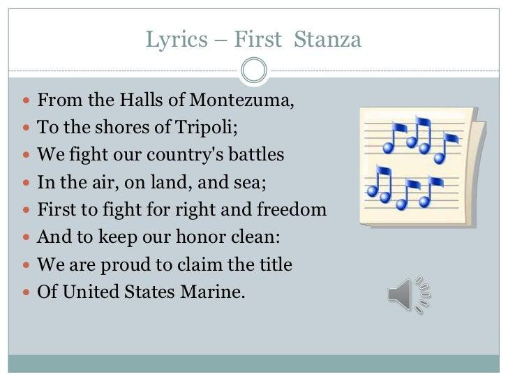 """The Marines Hymn"""