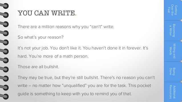 The marketer's pocket guide to writing well Slide 3