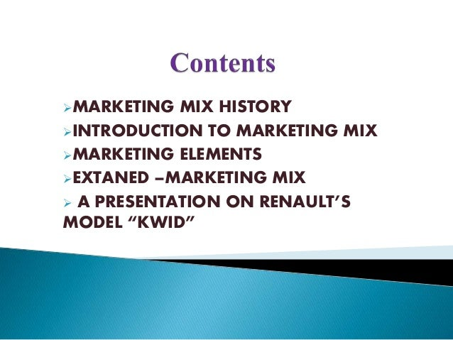 marketing mix of renault We discuss the state of digital marketing in the automotive industry, the challenges organisations are facing, exciting trends and digital best practices.