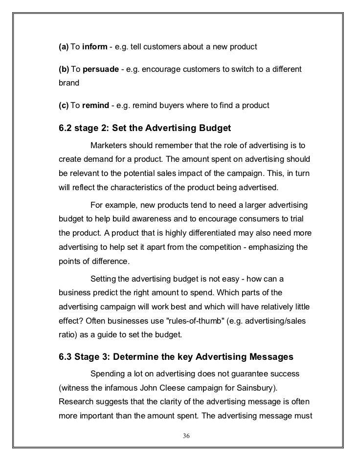three key characteristics of the marketing concept
