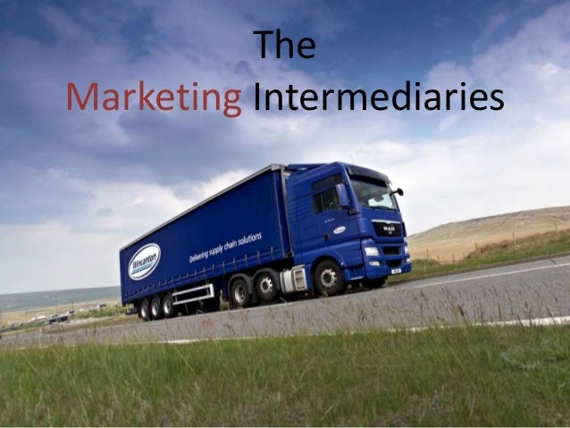 The Marketing Intermediaries