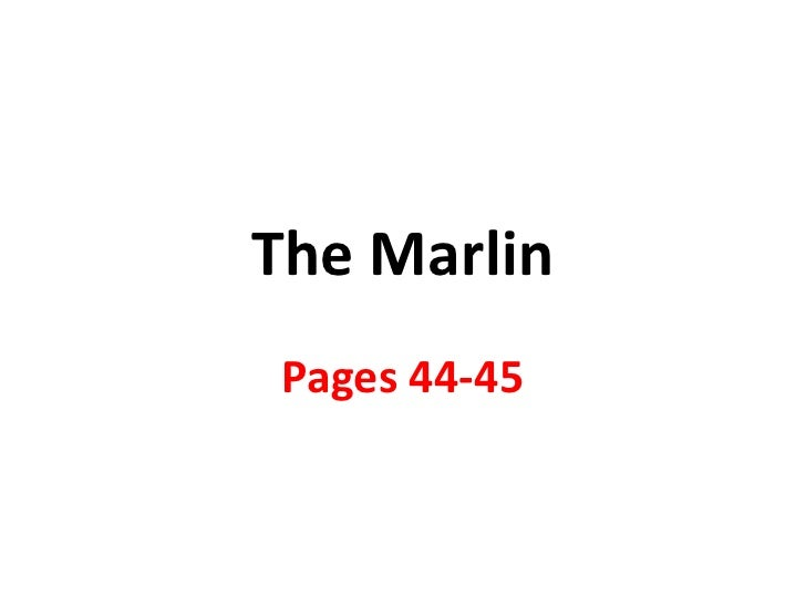 The Marlin Pages 44-45
