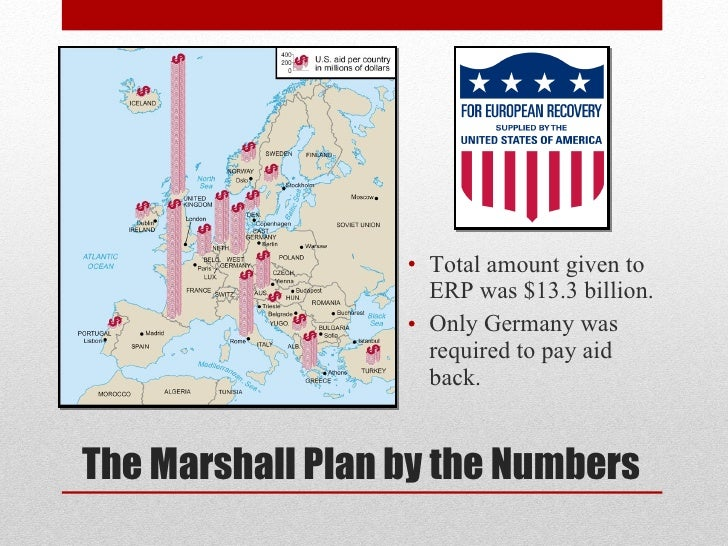An overview of the marshall plan the long version - The marshall plan was designed to ...