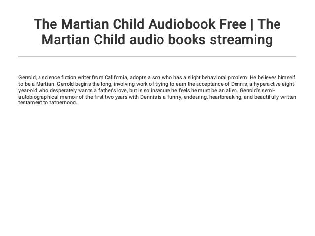 the martian audio book