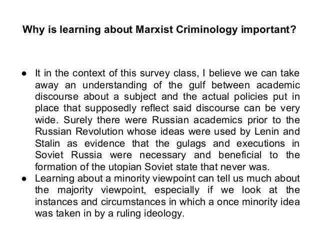 Criminolgy term paper