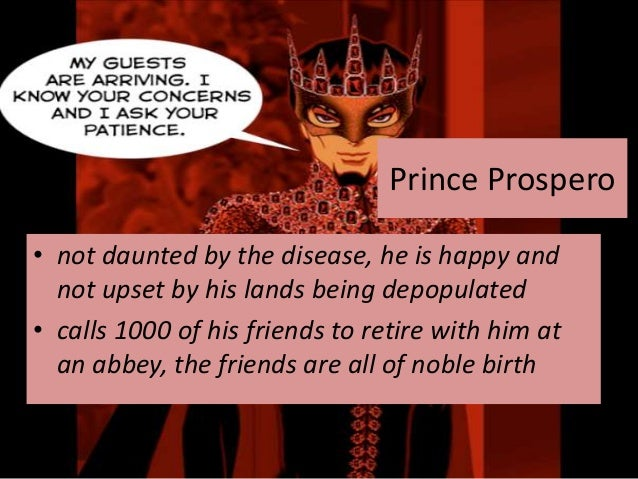 the masque of the red death prince prospero