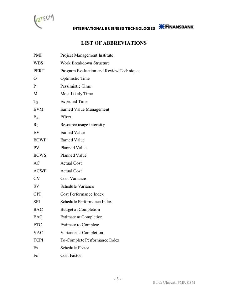 Business Letter Abbreviations