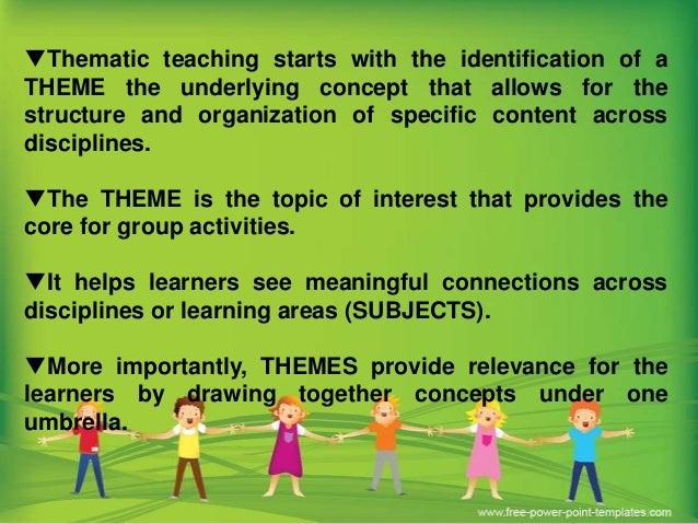 thematic teaching