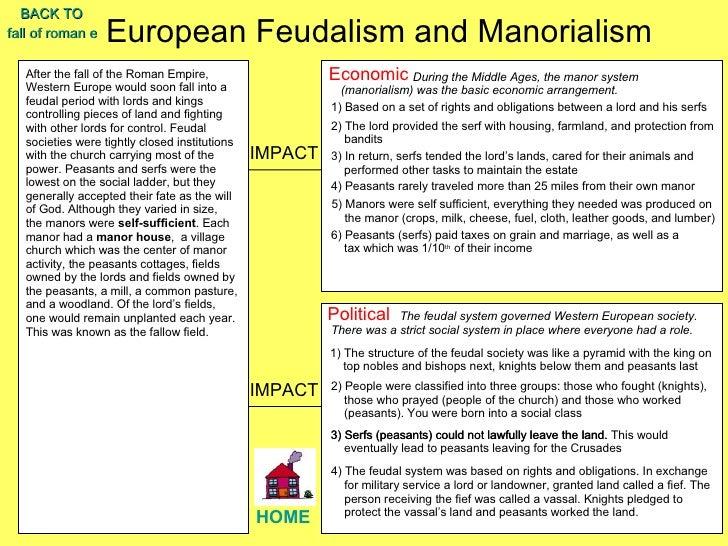 feudalism essay zapt