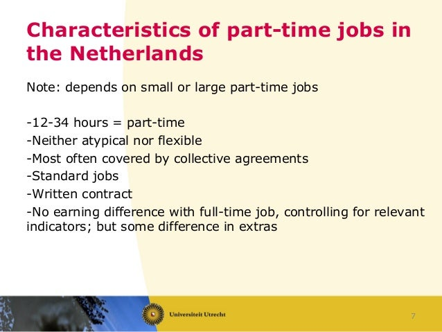 advantages disadvantages of part time jobs Potential disadvantages: limited flexibility and control, part-time schedules may   advantages: same as part-time work (with addition of split benefits), job.