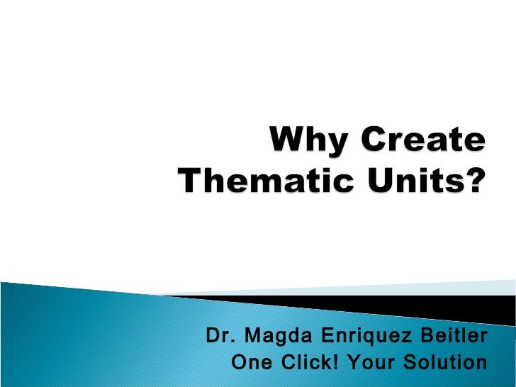 Dr. Magda Enriquez Beitler  One Click! Your Solution