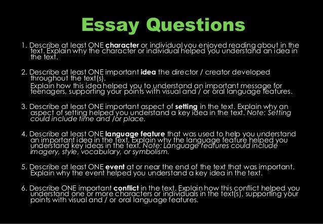 matrix questionare for science essay All questions involving code following resources contain the remaining available free response questions and scoring guidelines for the ap computer science a.