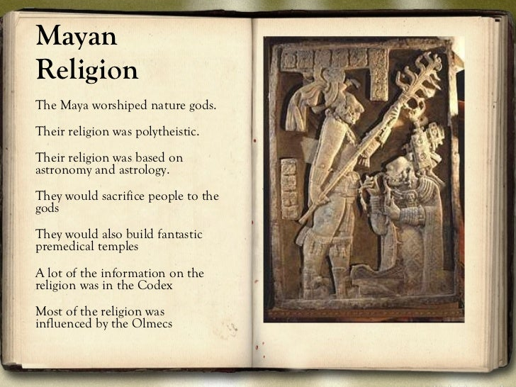 mayan religion articles