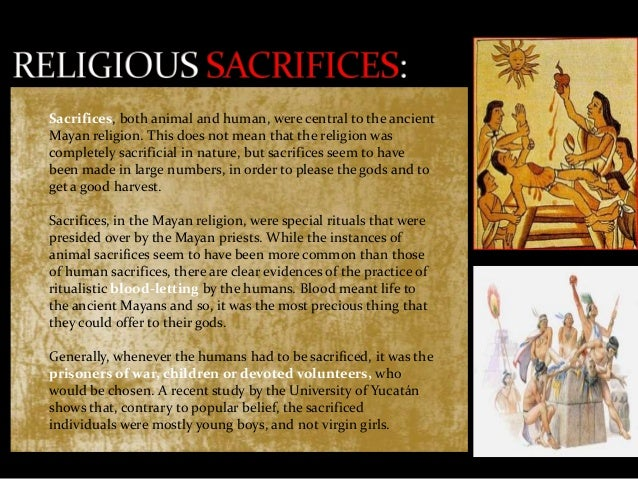 The Mayan Religion