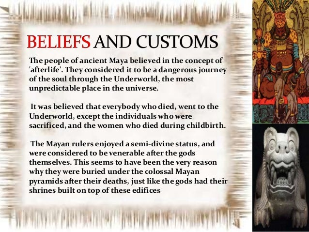 Mayan Beliefs of Afterlife | Maya Religion