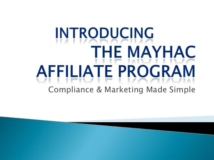 Compliance & Marketing Made Simple