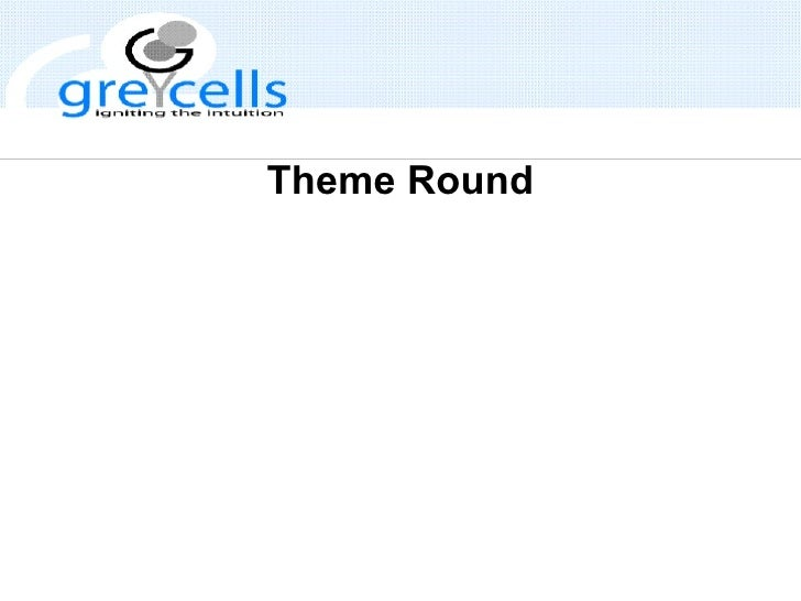 Theme Round