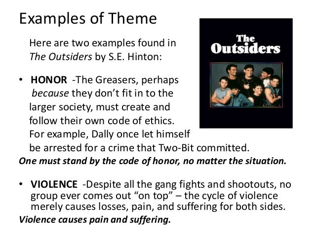 themes of the outsiders by se hinton theme. Black Bedroom Furniture Sets. Home Design Ideas