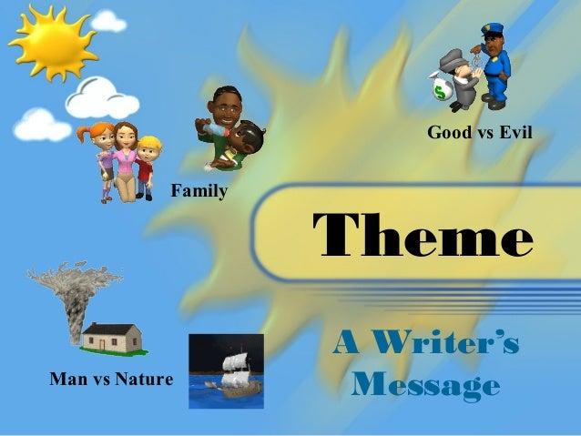 Good vs Evil            Family                     Theme                     A Writer'sMan vs Nature                      ...