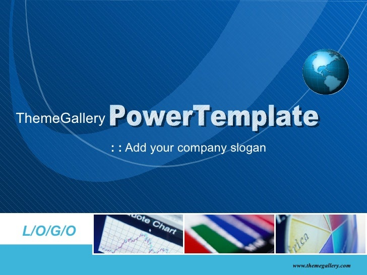 ThemeGallery : :  Add your company slogan PowerTemplate