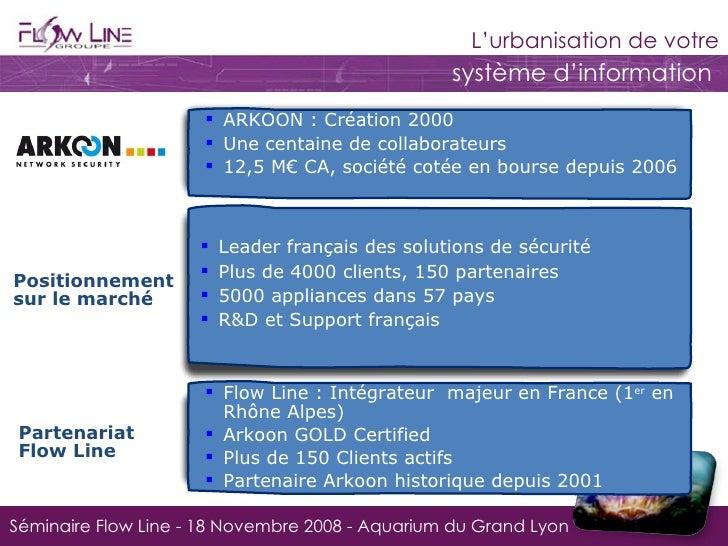 Sécurité UTM / Arkoon Slide 2