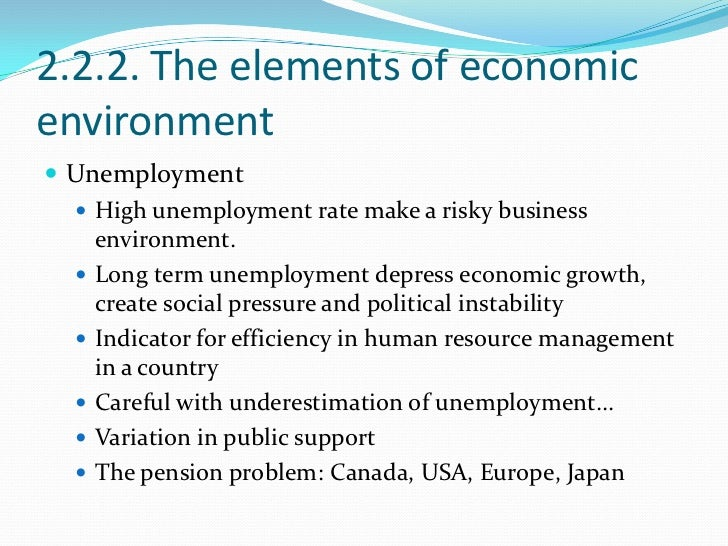 an analysis of the topic of the unemployment and economics These factors exert a strong impact on unemployment rate in the economy   based on the need and importance of the subject matter, it has various issues  firstly, the  product as determinants of unemployment she analyzed the  statistical.
