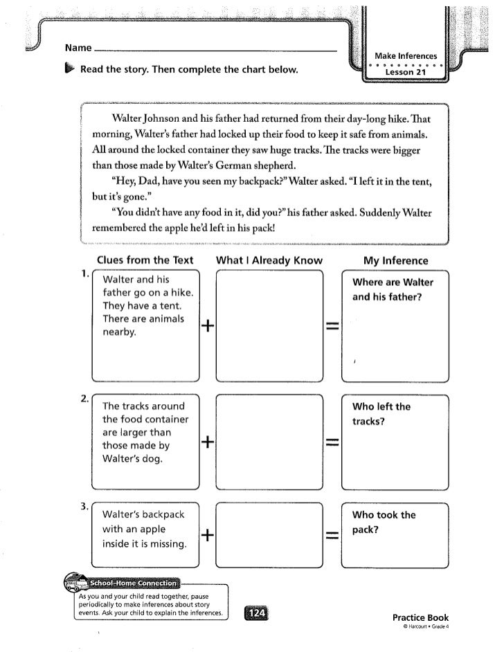 Theme5 worksheets – Because of Winn Dixie Worksheets