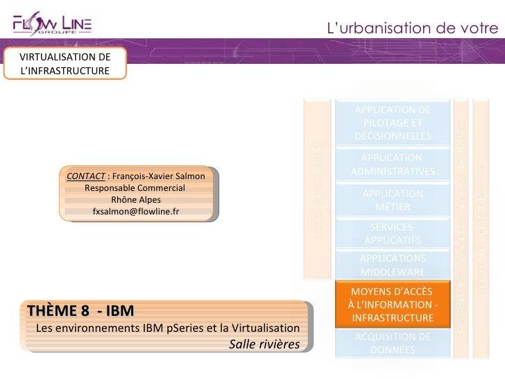 système d'information VIRTUALISATION DE L'INFRASTRUCTURE THÈME 8  - IBM Les environnements IBM pSeries et la Virtualisatio...