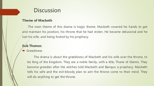 Macbeth themes essay