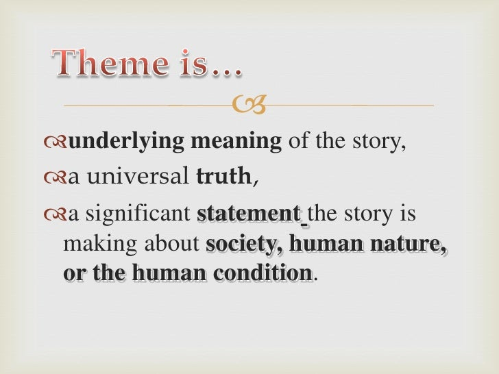 theme and meaning in a separate Theme and meaning in a separate peace theme is in simplest the moral of the story it is the lesson readers should receive that is significant to the entire text theme also can be what the story mostly focuses on.