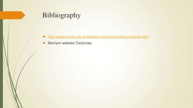 The meaning of charity bibliography httparduetemple ccuart Image collections