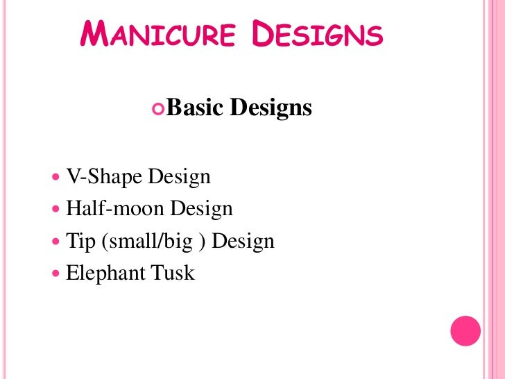 The meaning of manicure