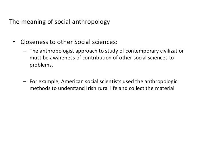 Method in social anthropology selected essays