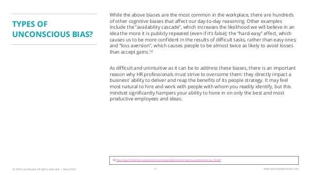 gender bias in the workplace pdf